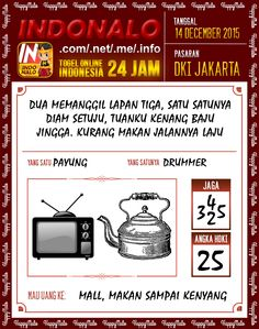 Prediksi Togel Jakarta 14 Desember 2015  www.indoNalo.net Kupon HappyNalo 6&4 Nomor Rp.5Rb Total Hadiah Rp.3.55M