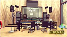 Chance Recording Studio by Rissy Rawr at Pandasht Productions • Sims 4 Updates