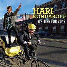 """I was lucky enough to see Hari Kondabolu do stand up in Minneapolis last night. You should buy his new comedy album on Kill Rock Stars -  """"Waiting for 2042"""""""