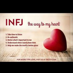 #infj Yes! Respect what's important to me!