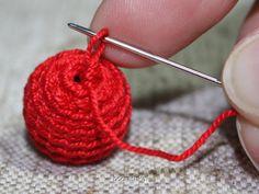 how to #crochet #beads