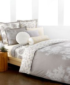Style Bedding, Snow Willow Comforter and Duvet Cover Sets - Apartment Bedding - Bed & Bath - Macy's