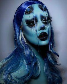 Edgy Makeup, Scary Makeup, Cute Makeup, Pretty Makeup, Demon Makeup, Extreme Makeup, Horror Makeup, Face Paint Makeup, Makeup Art