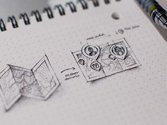 Creative Sketches, Dribbble, Graphic, Design, and Beautiful image ideas & inspiration on Designspiration Web Design, Game Design, Icon Design, Graphic Design, Wireframe Design, App Wireframe, Sketch Icon, Map Sketch, Map Icons