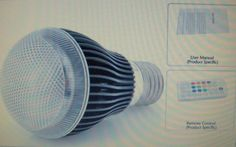 """Color Changing LED Light Bulb """"iSunroad"""" 2 Million Colors, Remote Controlled"""
