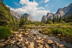 So Much to See, So Little Time: Your Guide to Yosemite: Yosemite Valley and Merced River Road Trip Usa, West Coast Road Trip, Usa Roadtrip, California Camping, California Vacation, California National Parks, Yosemite National Park, Merced River, Yosemite Valley
