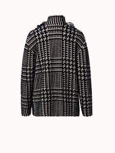 Akris® Official – Cashmere Silk Plaid Jacquard Cardigan Black Cardigan, Cashmere, Fall Winter, Dressing, Plaid, Silk, Coat, Jackets, Closure