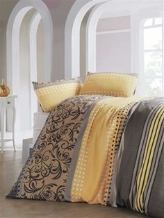 Naplemente ágyneműhuzat garnitúra Sweet Home, Yellow And Brown, Home Collections, Bedding Sets, My House, Comforters, Blanket, Furniture, Home Decor