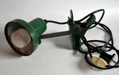 Philips Retro Lampje Groen, vintage - Prijs: € 7,00