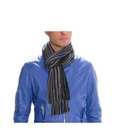 Ανδρικά Κασκόλ Γκρι Ριγέ • 100% Ακρυλικό. • 155εκ Μήκος x 24εκ Πλάτος. • Double face με ρίγες σε αποχρώσεις γκρι και μπλε. Accessories, Fashion, Moda, Fashion Styles, Fashion Illustrations, Jewelry Accessories