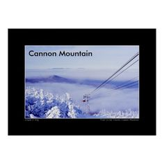 The famed Cannon Mountain Tram carries skiers to the summit of Cannon as it floats above the clouds filling the valley of the Franconia Range. Open edition fine art prints can be purchased here: http://fineartamerica.com/featured/tram-on-the-clouds-on-cannon-mountain-wayne-king.html http://www.redbubble.com/people/waynedking/works/12912414-tram-on-the-clouds-on-cannon-mountain