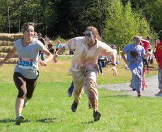 5 km Zombie Trail Run,  Waverley,Nova Scotia