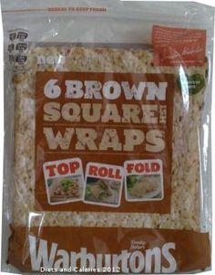 Warburtons Brown Square Wraps