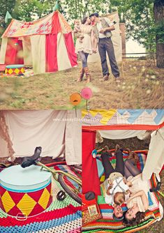 Circus Family Session : Sassyfras Studios