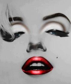 New pop art girl illustration marilyn monroe 15 ideas Marilyn Monroe Kunst, Marilyn Monroe Painting, Marilyn Monroe Quotes, Pin Up Retro, Image Deco, Pop Art Girl, Day Makeup, Norma Jeane, Arte Pop