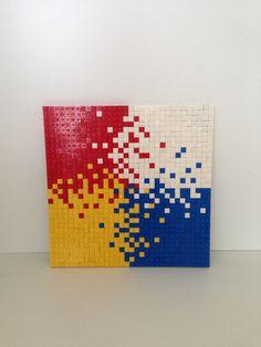 LEGO MOSAICS. $100.00, via Etsy.