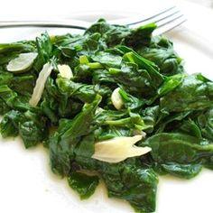 Garlic Spinach Allrecipes.com