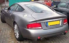 Aston Martin Vanquish rear view (Photo credit: Wikipedia)