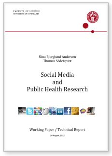 Social media and public health research