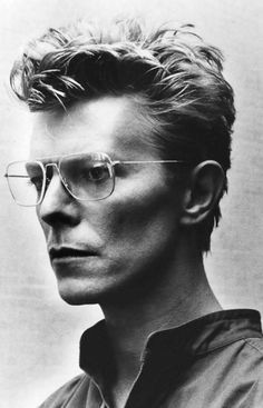 Bowie by Helmut Newton