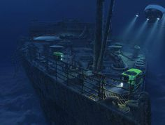 Titanic Wreck explore
