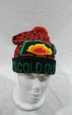 Youth Kenworth Beanie Stocking cap hat truck toboggan ski winter snow girl kid