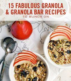 Easy Granola Recipes - 15 Fabulous Granola and Granola Bar Recipes to Munch On - Cosmopolitan