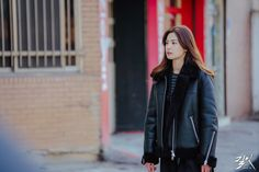 Nana Afterschool, Im Jin Ah Nana, Asian Beauty, Asian Girl, Leather Jacket, Hairstyle, Actresses, Outfits, Girls