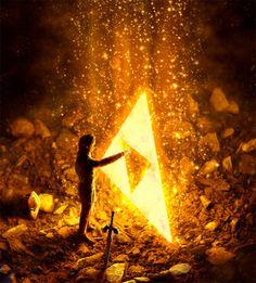 Triforce by Fergus Robinson
