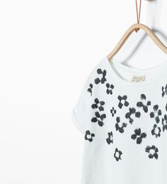 ZARA - KIDS - Long printed T-shirt