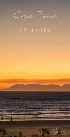 One of the best things to do in Cape Town, South Africa: A sundowner with a view of course! Travel in Africa.