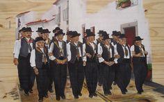 """Monsaraz: Exposição de pintura """"O Cante Alentejano e as suas Gentes"""""""