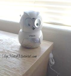 Top Notch Material: VTech Safe & Sound Owl Digital Video Baby Monitor
