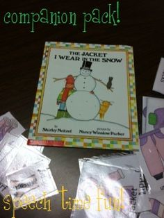 The Jacket I Wear In The Snow: Story Companion Activity Pack! - Speech Time Fun