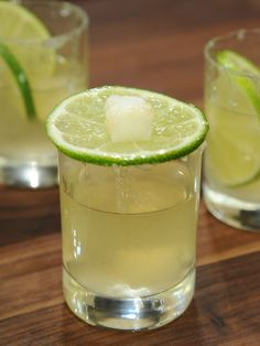 Flaming Lime Drop Recipe : Geoffrey Zakarian : Food Network I'm thinking Mexican night! Fun Cocktails, Party Drinks, Cocktail Drinks, Fun Drinks, Yummy Drinks, Alcoholic Drinks, Beverages, Drinks Alcohol, Mexican Cocktails