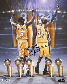 Get this autographed Kobe Bryant memorabilia. Basketball Trophies, Kobe Bryant Family, Kobe Bryant Black Mamba, Sports Art, Nba Players, Los Angeles Lakers, Instagram, Legends, Goat