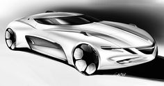 Cardesign sketches #1 on Behance