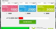 Free Wii Points – Wii Code Generator | E Hacks and Cheats - Games world