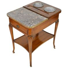 Jordan Vineyards VIP Louis XIV Style Wine Table   From a unique collection of antique and modern side tables at https://www.1stdibs.com/furniture/tables/side-tables/