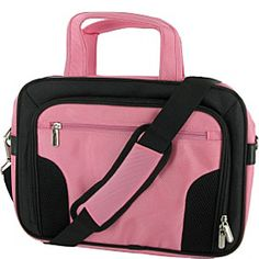 rooCASE Deluxe Carrying Bag for 13.3-Inch Netbook - Pink - via eBags.com!