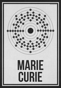 Posters honran a las mujeres pioneras de la ciencia