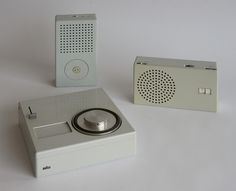 Braun TP1 and T3 by Døgen, via Flickr