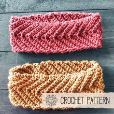 Crochet Pattern - Arrow Headband — The Roving Nomad Crochet Abbreviations, Crochet Stitches, Crochet Hooks, Crochet Patterns, Crochet Turban, Knitted Headband, Knit Crochet, Pattern Worksheet, Yarn Bee