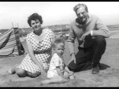 John Taylor with his parents, Jack and Eugenia