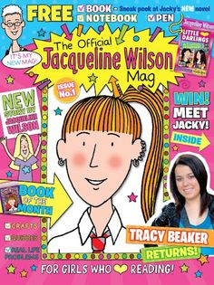 Cool downthetubes.net news blog: DC Thomson launches Official Jacqueline Wilson Magazine photo