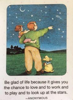 Be Glad Of Life-Handmade Fridge Magnet-ME Artwork
