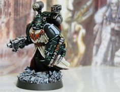 Pro Painted Warhammer 40K Dark Angels Apothecary Space Marine Commission Artwork   eBay