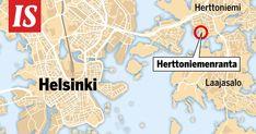 Helsinki, Map, Location Map, Maps