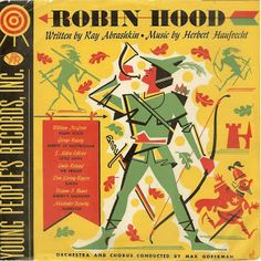 The Shellackophile: Robin Hood on Young Peoples Records