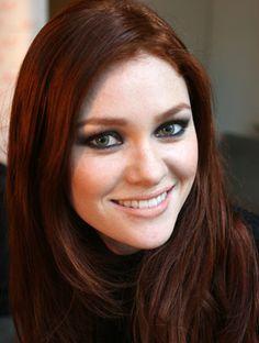 hair ideas on pinterest dark auburn hair red highlights